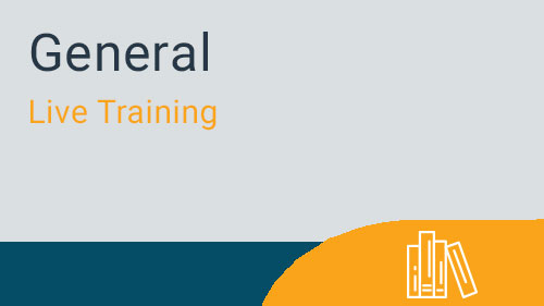 General - Welcome to the myMRI Client Portal Live Training