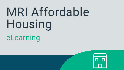 Affordable Housing - Monthly Processing eLearning