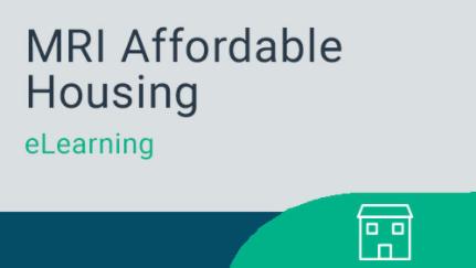 Affordable Housing - MRI Service Hub eLearning