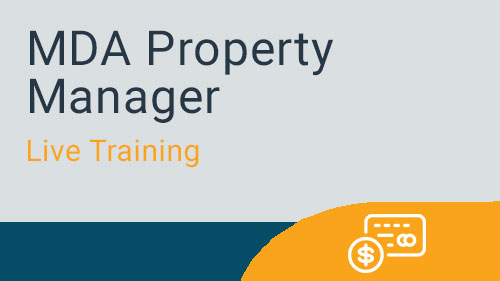 Recurring Tenant Processes - MDA Property Manager Bill Tenants