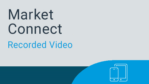 Market Connect - Navigating for Marketing Manager Webinar Recording