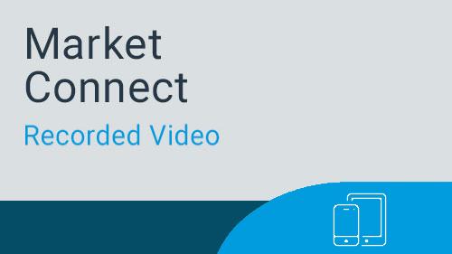 Market Connect - Navigating for Marketing Manager Webinar Video
