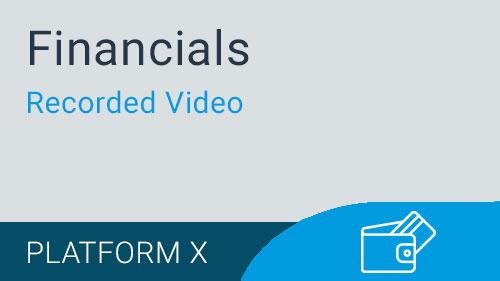 Financials - Accounts Payable Invoice Selection Video