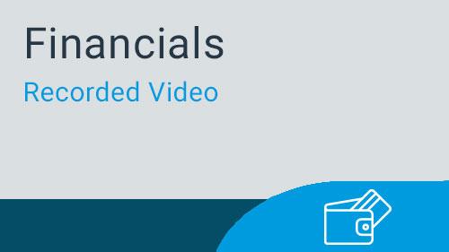 Accounts Payable - Direct Check Printing Video