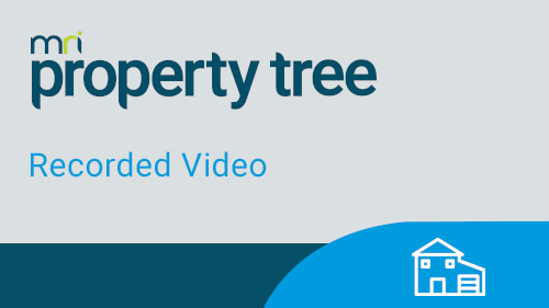 Property Tree On Demand Webinars