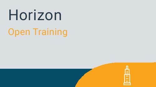 MRI Horizon - Introduction to Horizon (open)