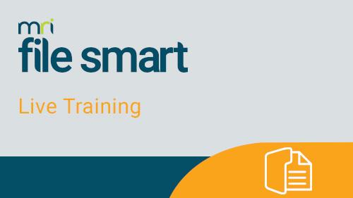 File Smart Workflows for Strata Master