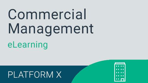 Commercial Management - Building Maintenance eLearning Version X