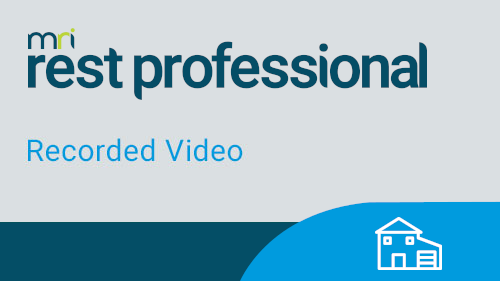 Rest Professional On Demand Webinars
