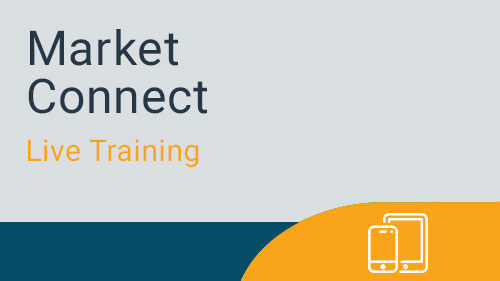 Market Connect - Navigating for Marketing Manager Live Training