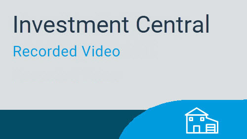 Investment Central - Basics of Use and Navigation Video