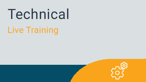 Technical - Database Schema Live Training