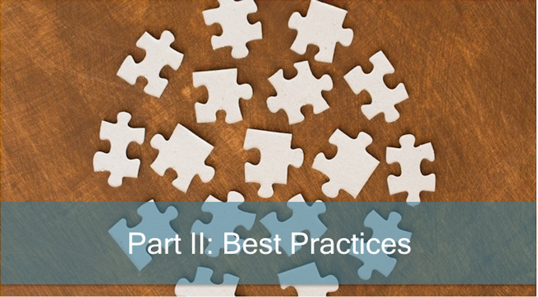 Case Management: Part II: Best Practices