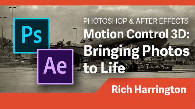 Animation: Motion Control 3D: Bringing Photos to Life
