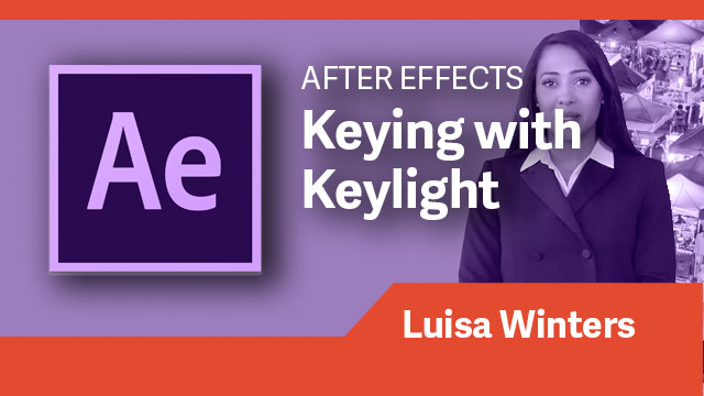 After Effects: Keying with Keylight