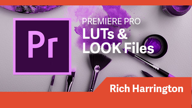 Premiere Pro: LUTs & LOOK Files