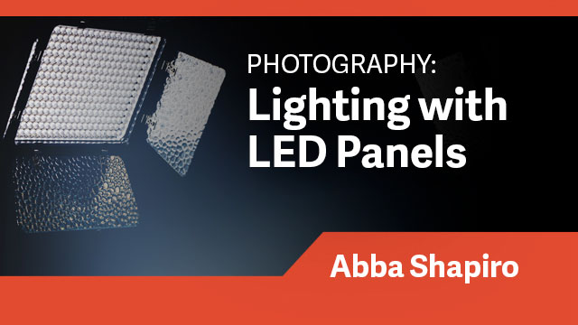 Photography: Lighting with LED Panels