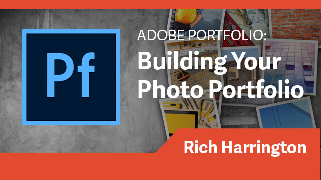 Adobe Portfolio: Building Your Photo Portfolio