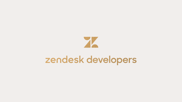On-Demand: The Zendesk Developer Platform