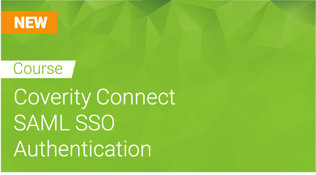 Coverity Connect: SAML SSO Authentication