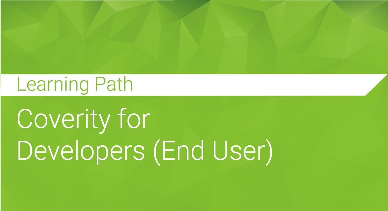 Coverity for Developers (End Users)