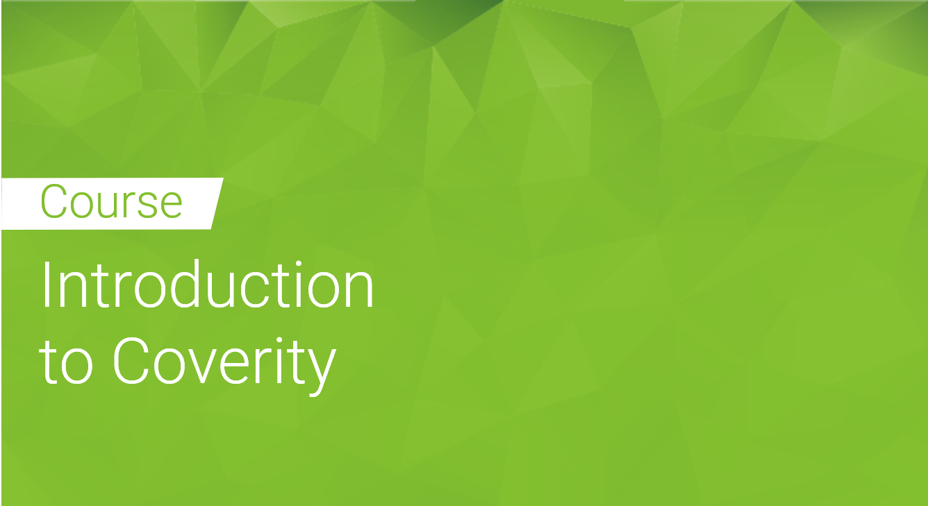 Introduction to Coverity