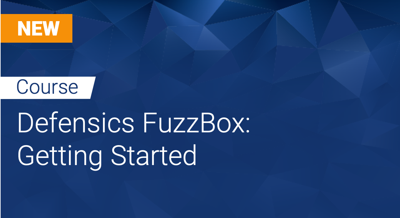 Defensics FuzzBox: Getting Started