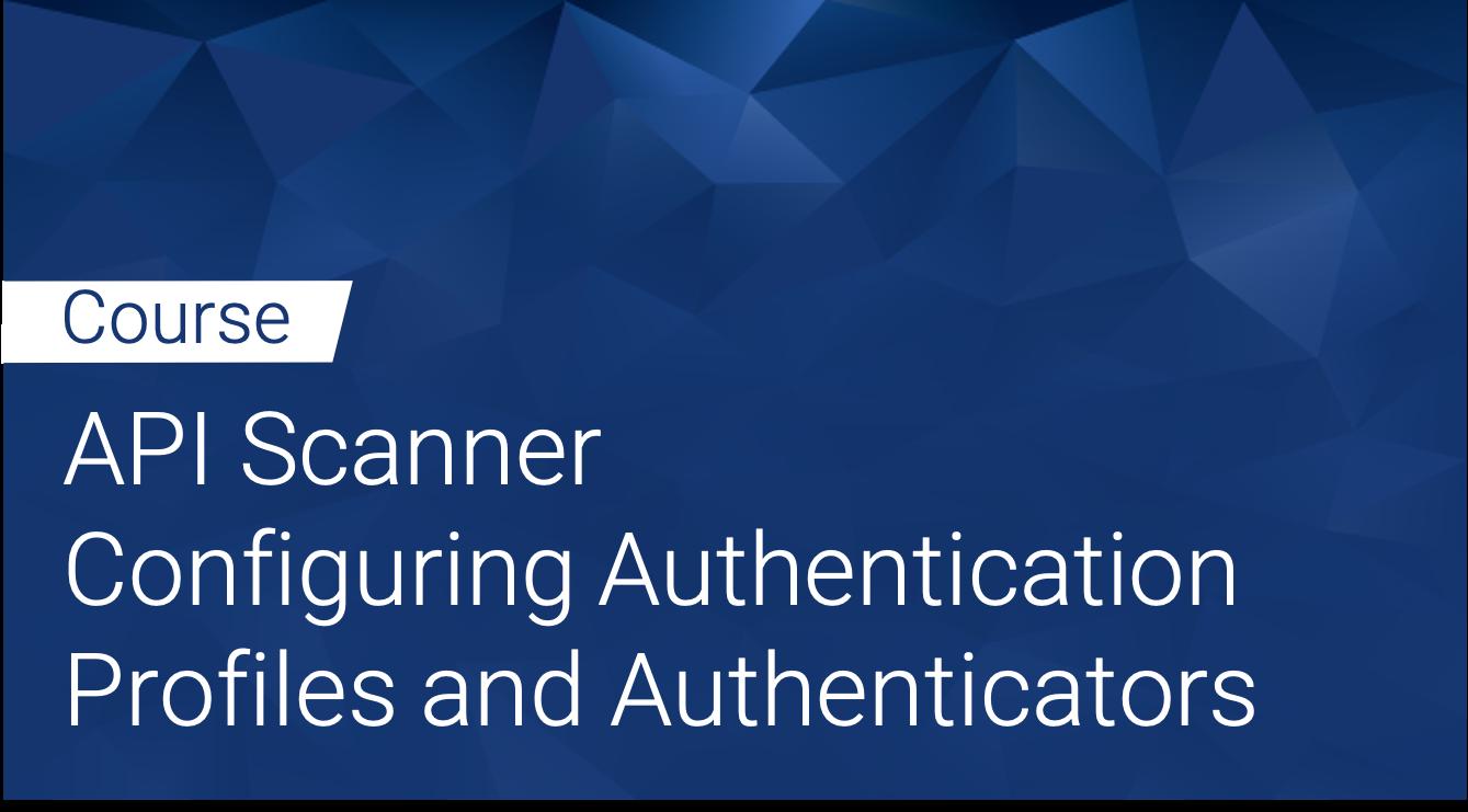 Tinfoil API Scanner: Configuring Authentication Profiles and Authenticators