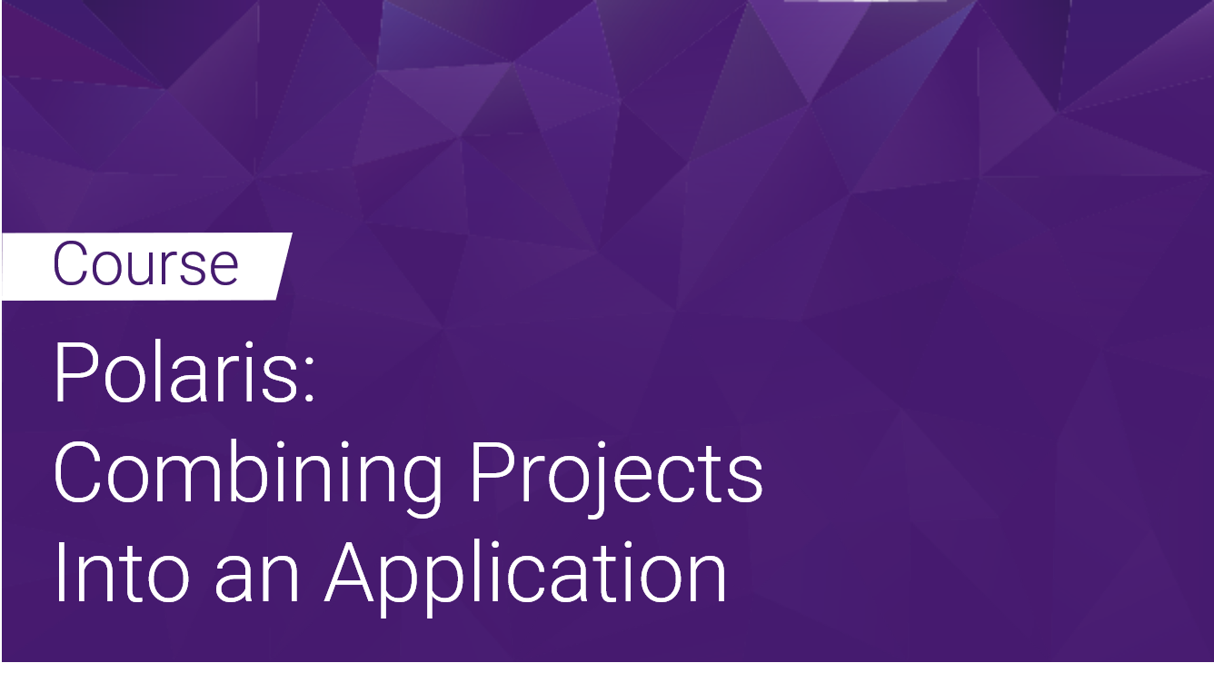Polaris Combining Projects into an Application