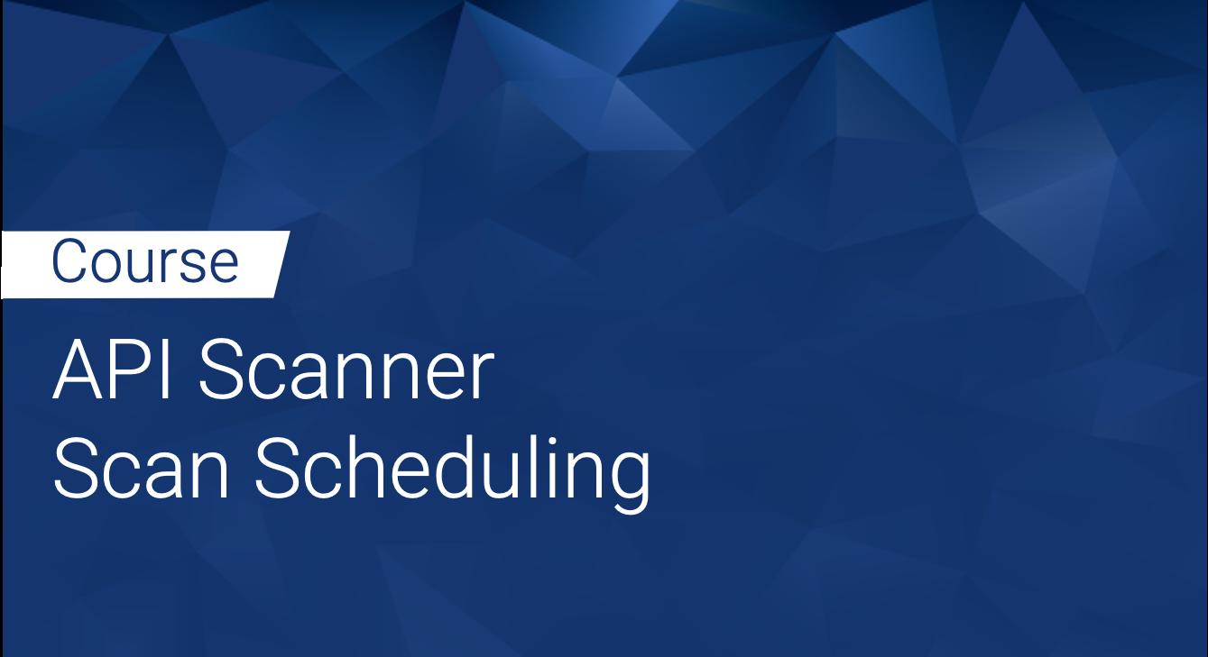 Tinfoil API Scanner: Scan Scheduling