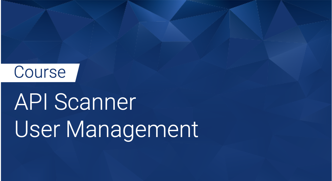 Tinfoil API Scanner: User Management