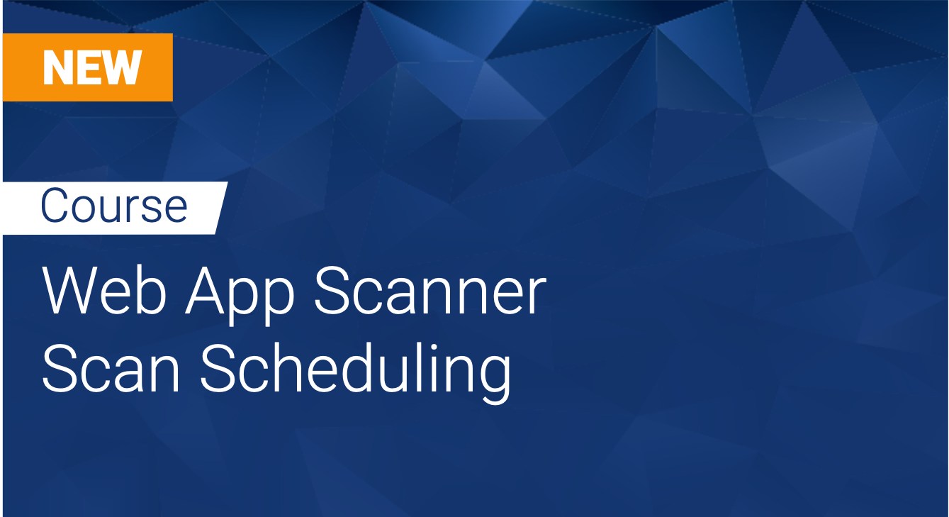Tinfoil Web App Scanner: Scan Scheduling