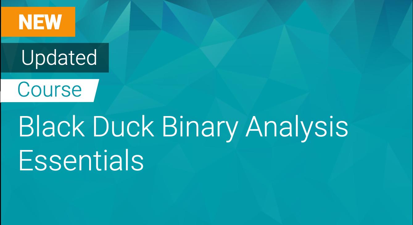 Black Duck Binary Analysis Essentials