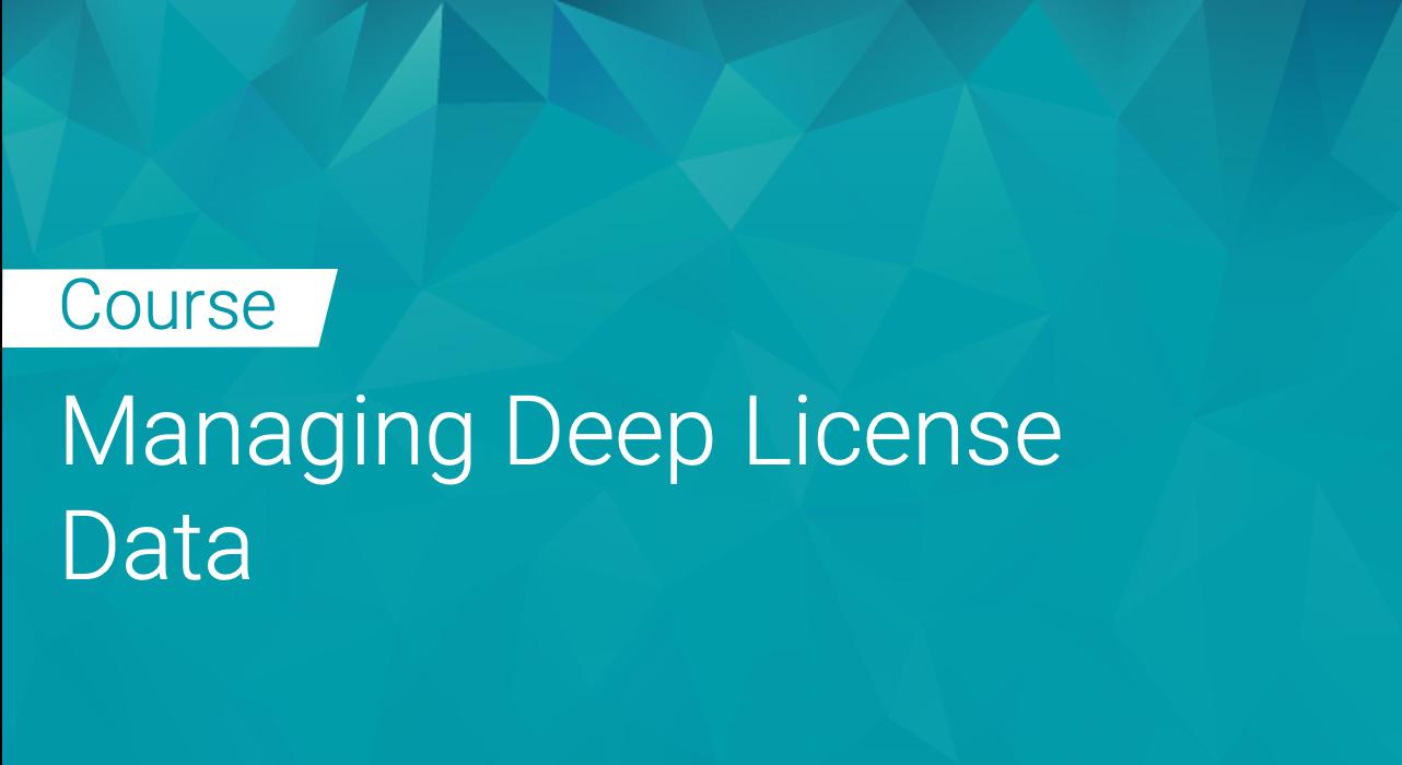 Black Duck: Managing Deep License Data