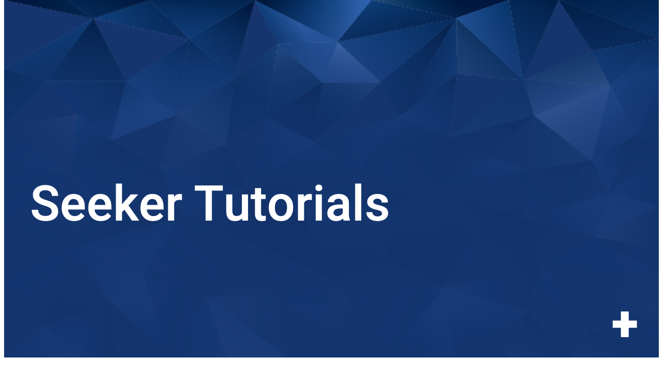 Seeker Tutorials