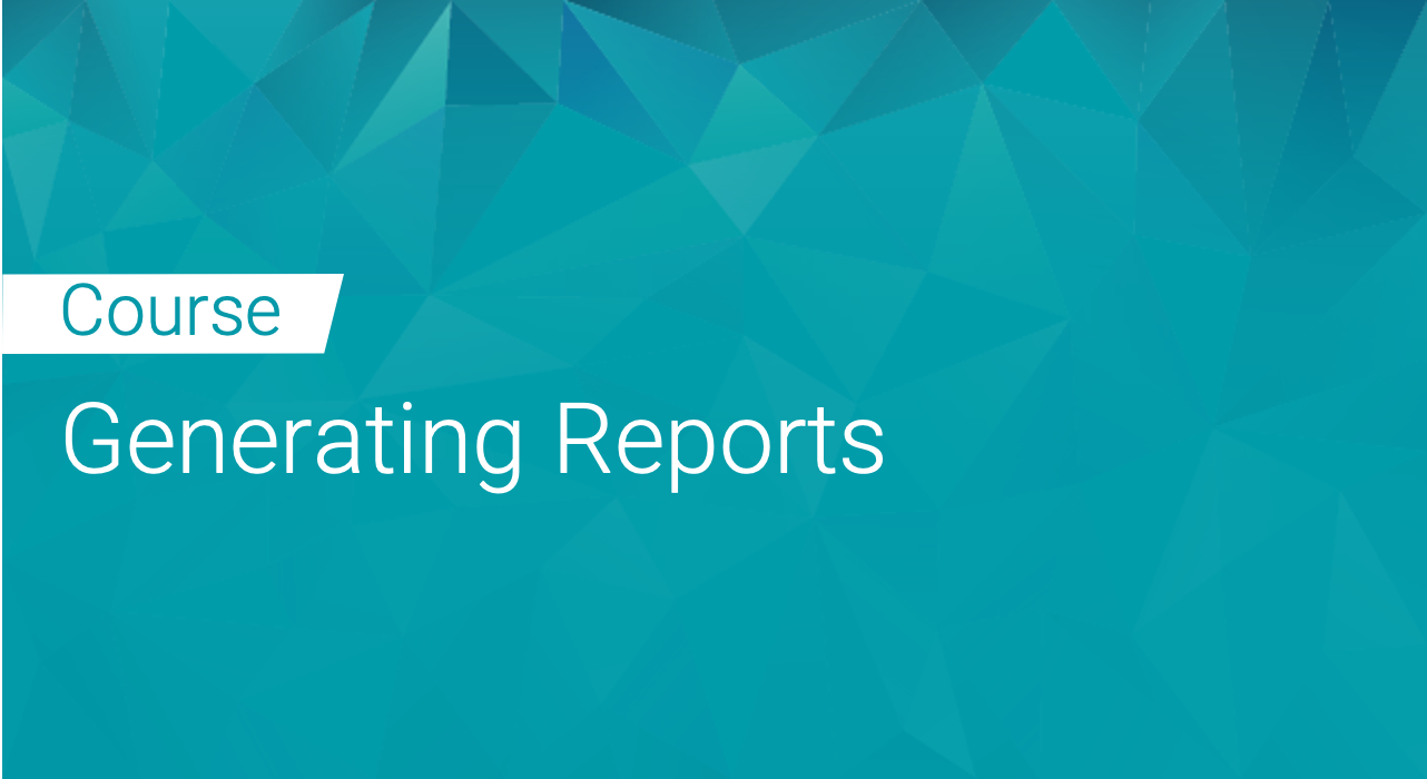 Black Duck: Generating Reports