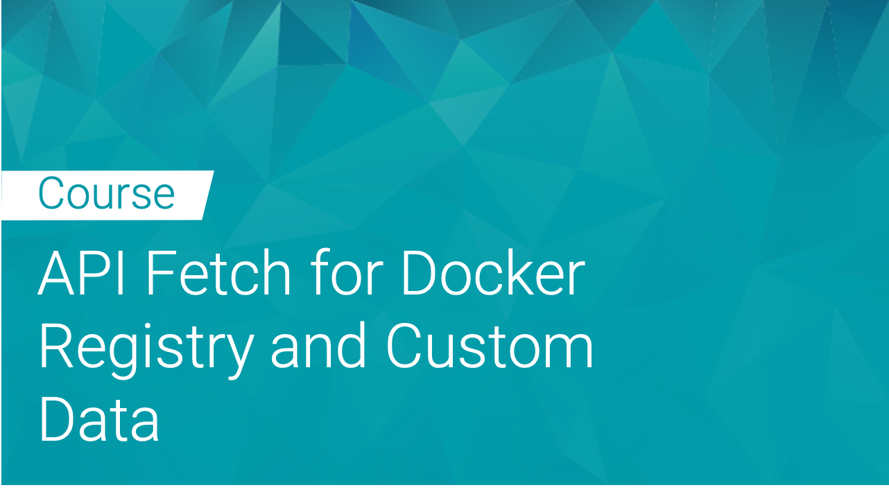 Black Duck Binary Analysis: API Fetch for Docker Registry and Custom Data