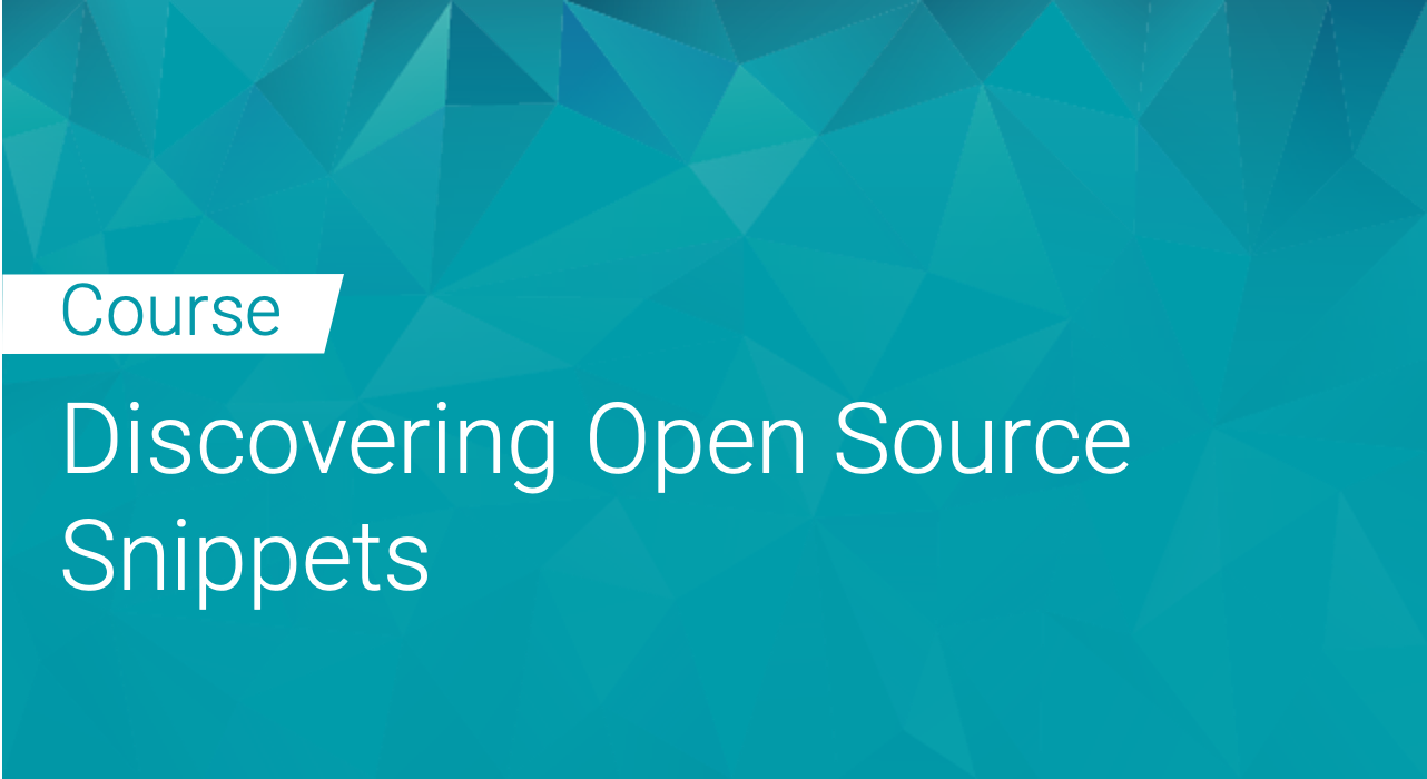 Black Duck: Discovering Open Source Snippets