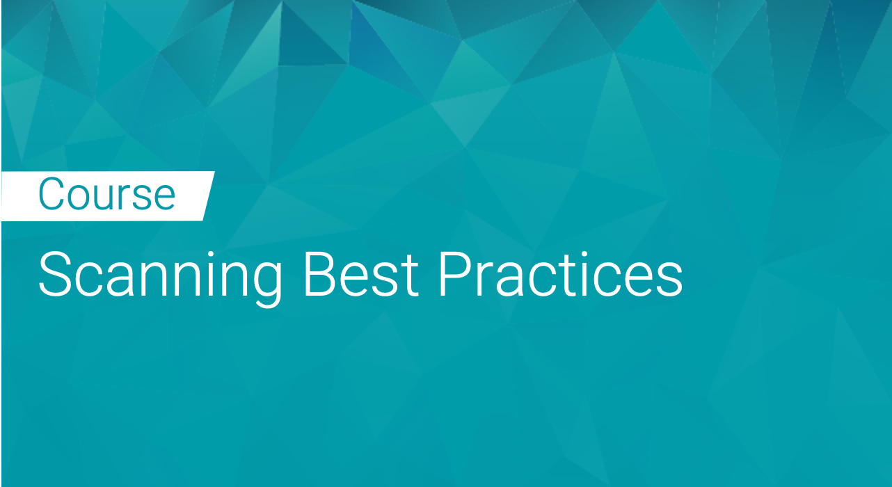 Black Duck: Scanning Best Practices
