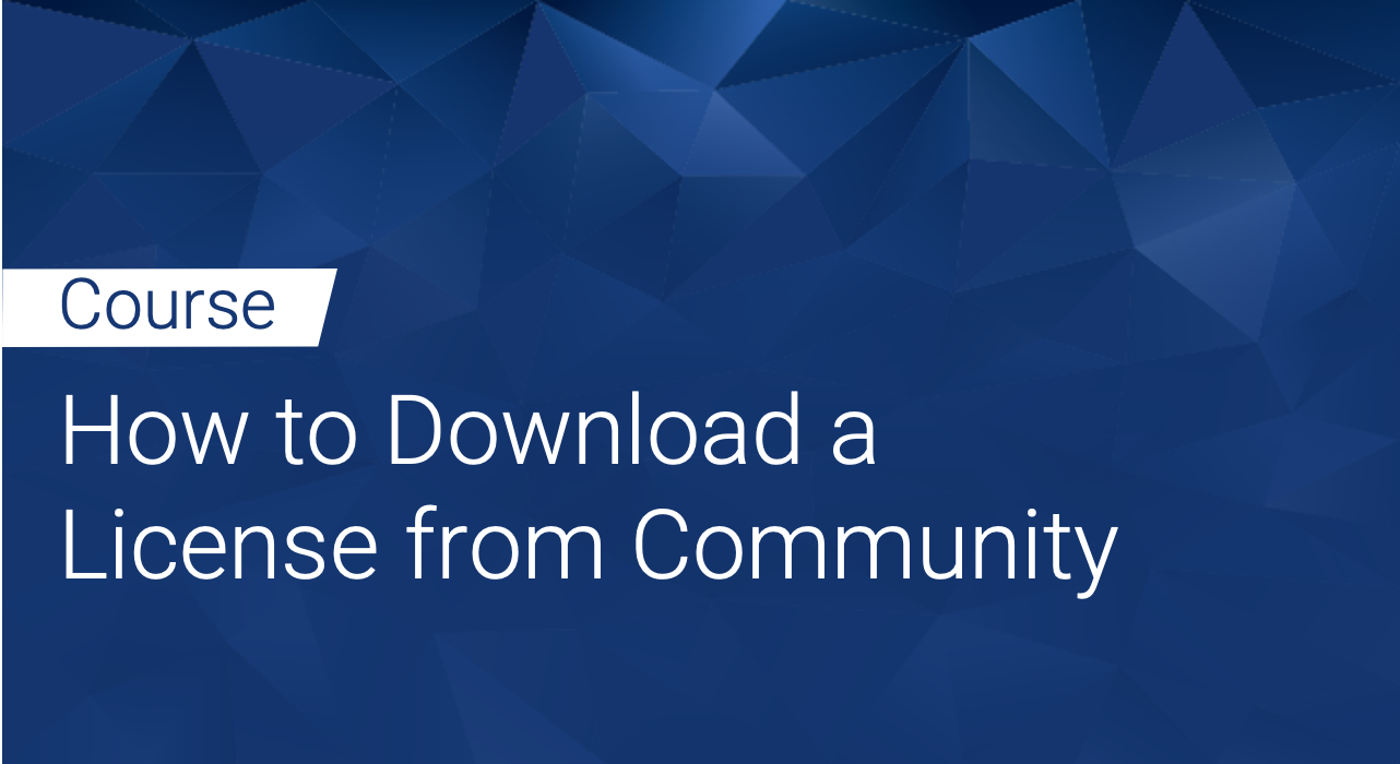 Defensics: How to Download a License from Community