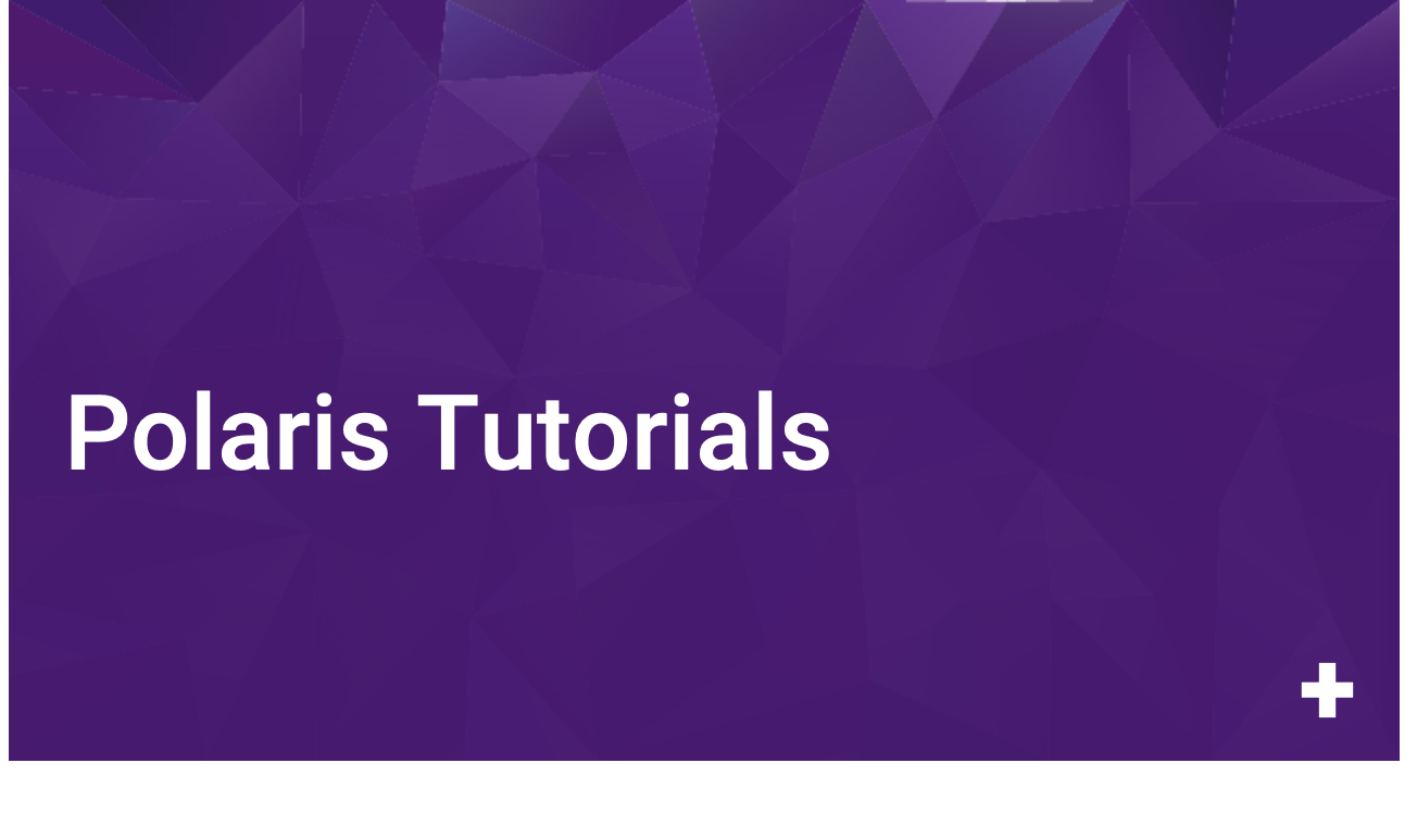 Polaris Tutorials