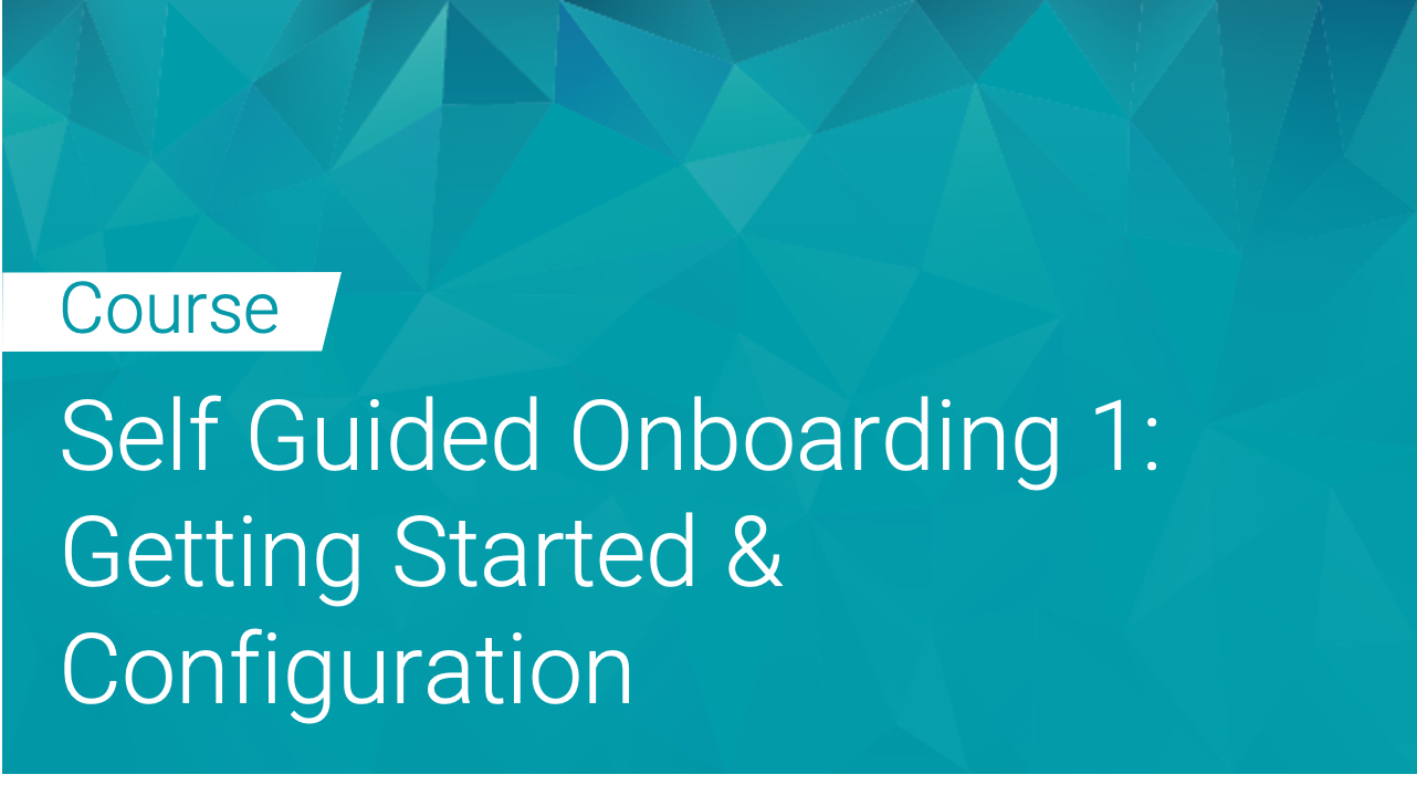 Black Duck: Self Guided Onboarding Part 1 - Getting Started & Configuration