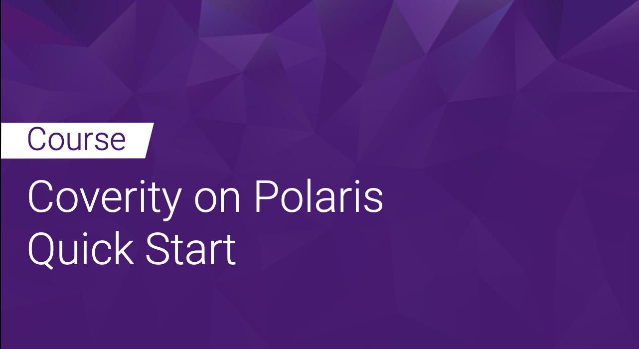 Coverity on Polaris Quick Start