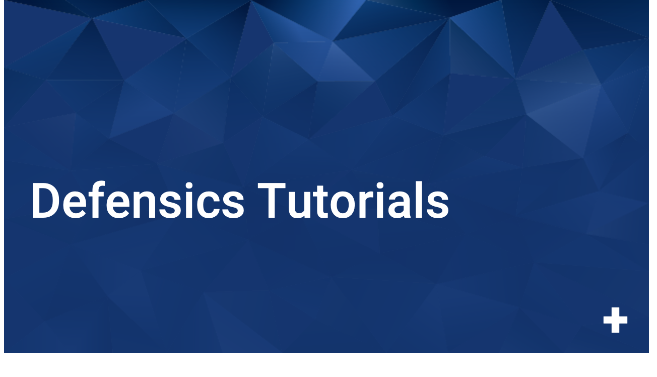 Defensics Tutorials