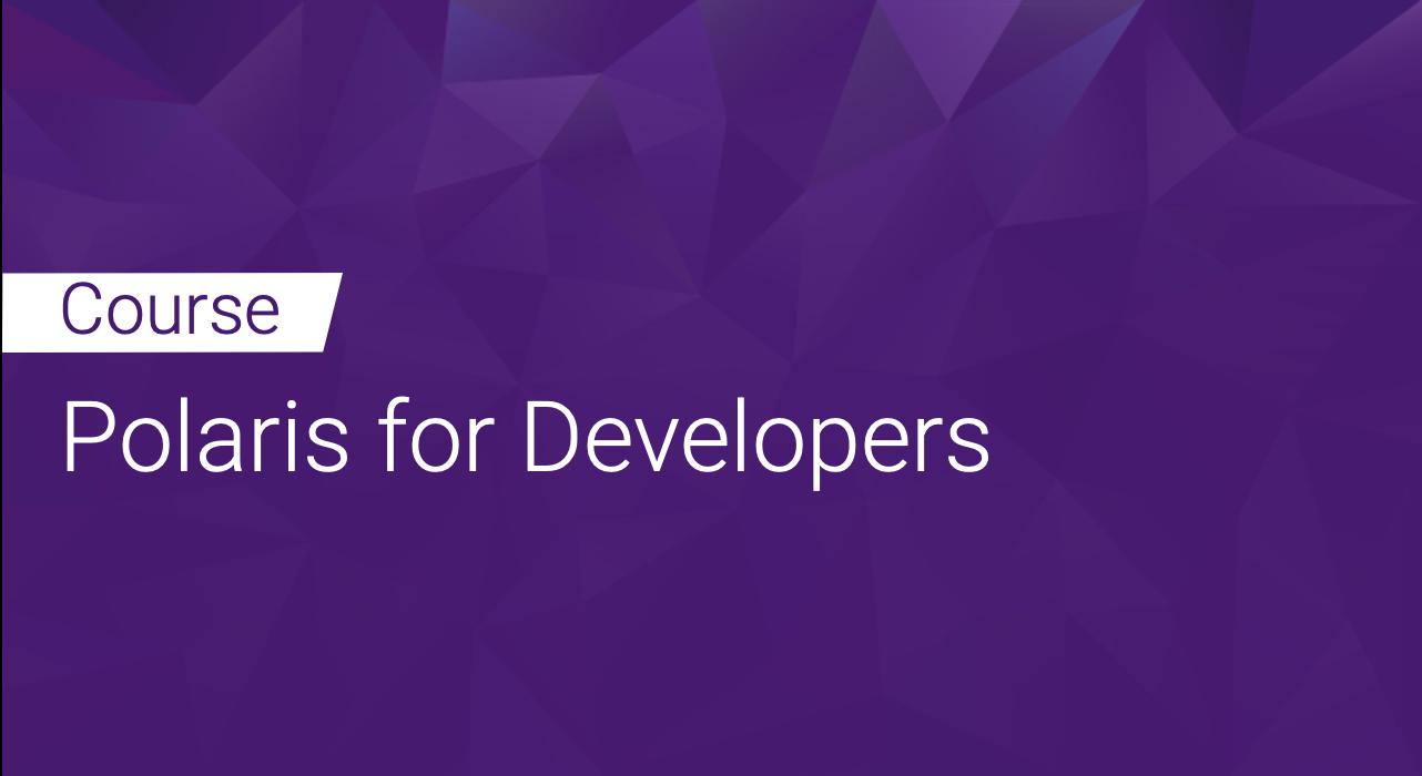 Polaris for Developers