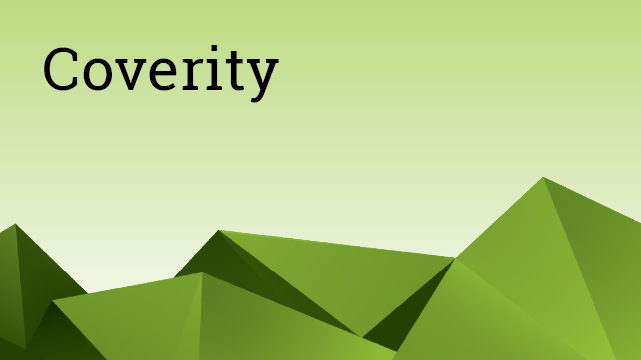 Coverity - 管理者対象 / Coverity for Managers