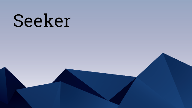 Seeker for DevOps