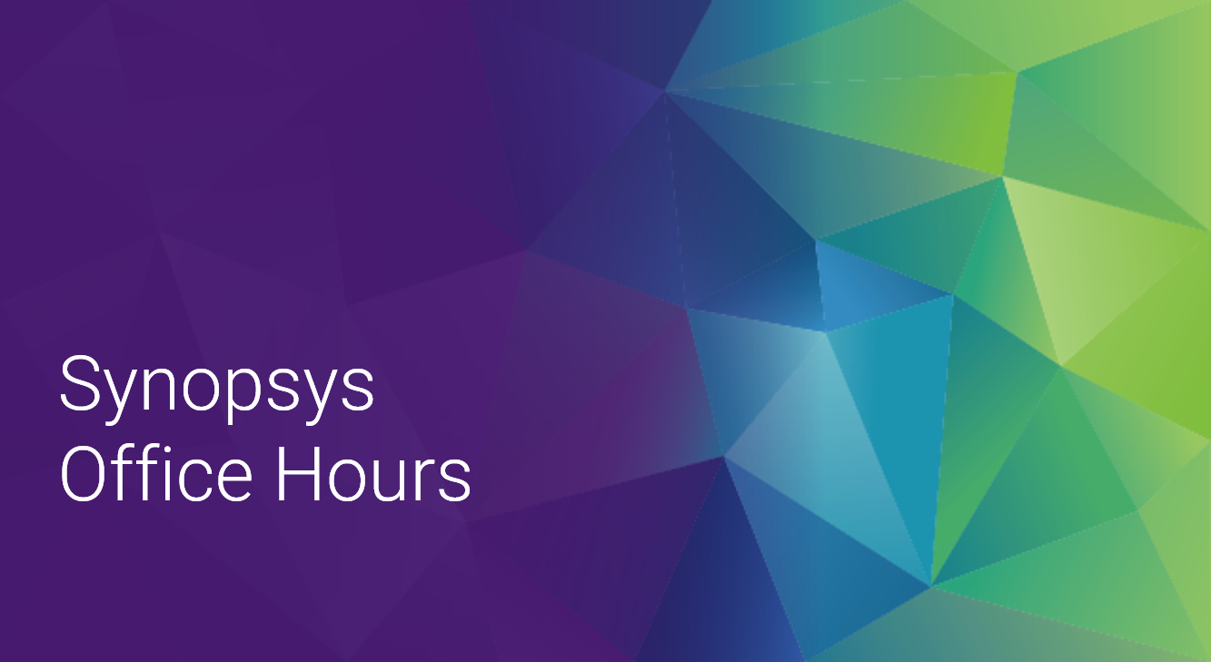 Synopsys Office Hours