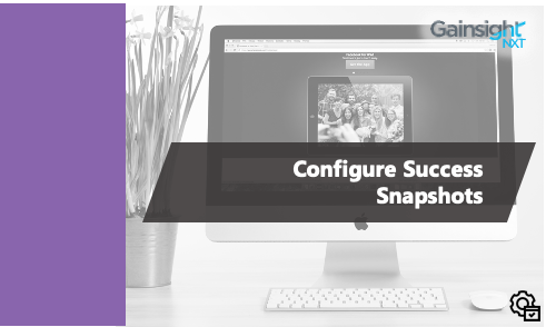 Admin - Configure Success Snapshots - NXT