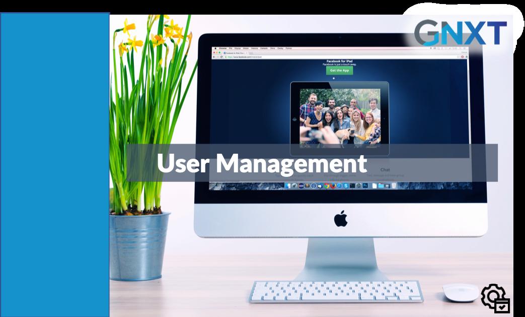 Admin - User Management - NXT